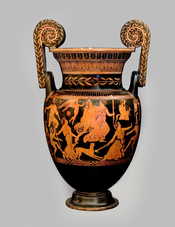 Dioniso mito rito e teatro mediterraneoantico for Vaso greco antico