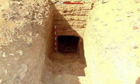 Entrata di una delle due tombe